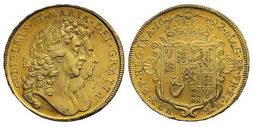 SOVR sale 3 lot 038 William and Mary 1692