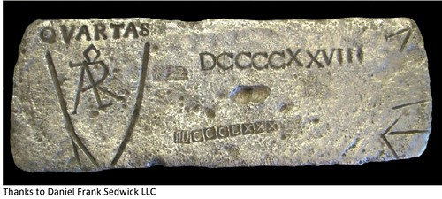 shipwreck silver bar
