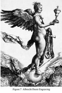 Fortuna engraving by Albrecht Durer