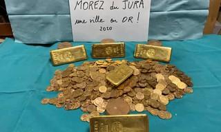 Morez France gold find