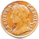Charles II farthing obv