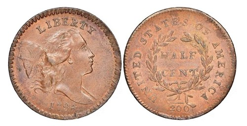 Lord St. Oswald 1794 Half Cent