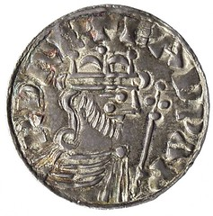 silver penny of Edward the Confessor obverse
