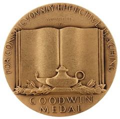 Goodwin Medal reverse