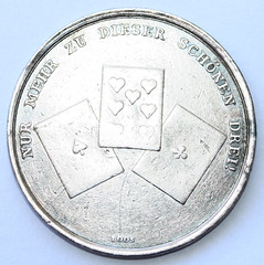 Fortuna Medal reverse