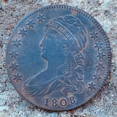 Tubman site 1808 coin
