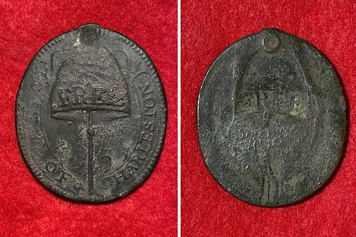 Charleston freedman's badge