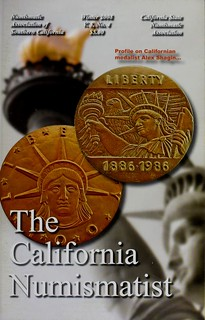California Numismatist 2008 Winter cover