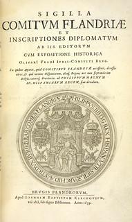 K-F sale 160 Lot 329 Sigilla comitum Flandriae et inscriptiones diplomatum