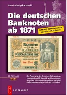 Die deutschen Banknoten ab 1871 book cover
