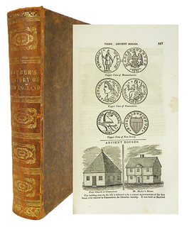 K-F sale 160 Lot 347 History and Antiquities of New England