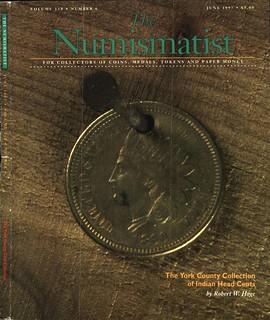 Numismatist June 1997 cover