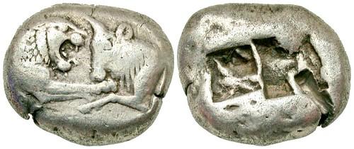 Lydian Kingdom Kroisos Stater