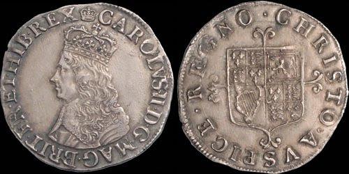 Charles II shilling example3