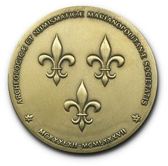 Numismatic Society of Montreal bronze medal Obverse