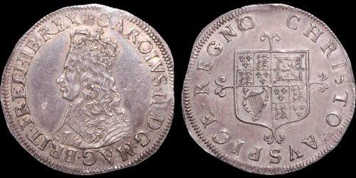 Charles II shilling example5