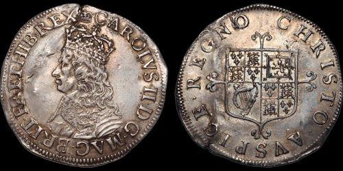 Charles II shilling example1