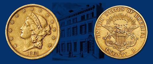 Paquet 1861-S Double Eagle