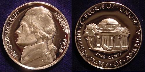 Ron Landis Jefferson Nickel with original Schlag design