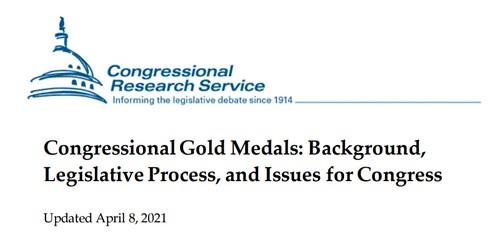 Congressional Gold Medals report