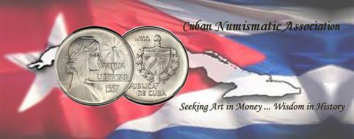 Cuban Numismatic Association logo
