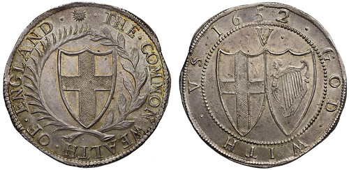 1652 Commonwealth Silver Crown
