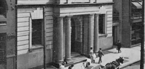 Bank of North America's building in Philadelphia
