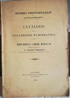 Lot 1862 Catalogo della collezione numismatica
