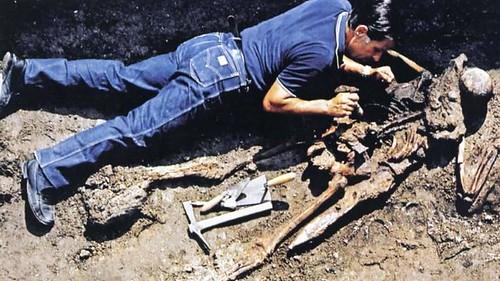 Herculaneum skeleton