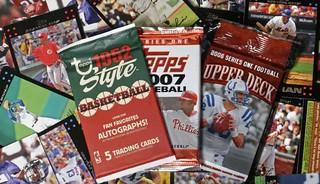 Sports card packs