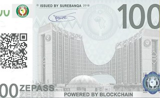 Zepass powered by blockchain banknote