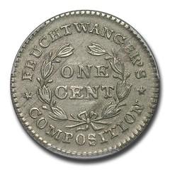 Feuchtwanger Cent reverse