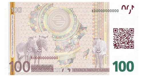 Stable smart cash note