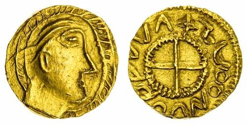 Crondall type Gold Shilling