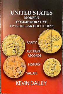 US Modern Commemorative Five-Dollar Gold Coins book cover