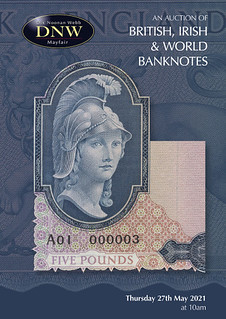 DNW 2021-05 Banknote sale cover
