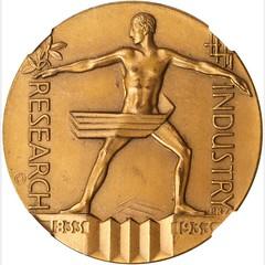 1933 Century of Progress Medal obverse