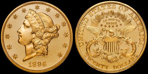 1896 Proof Double Eagle