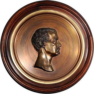 Sheridan portrailt medallion