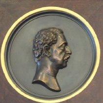 Doubleday portrait medallion
