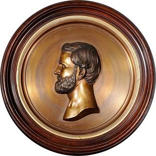 Grant portrailt medallion