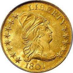 1801 Eagle obverse