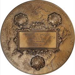 1919 Carnegie Hero Fund Medal reverse