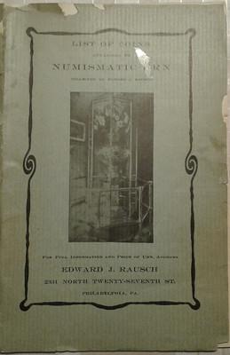 Edward Rausch's Numismatic Urn catalog