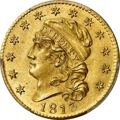 1813 Half Eagle obverse