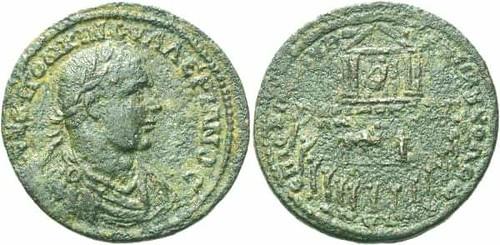 COLOPHON. Valerian i Large Bronze