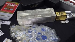 a thousand ounce bar of silver