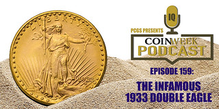 CoinWeek podcast 1933 Double Eagle