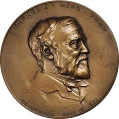 1919 Carnegie Hero Fund Medal obverse