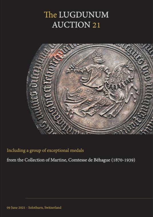 Lugdunum Auction 21 cover